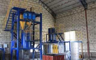 Оборудование для производства газобетонных блоков: виды