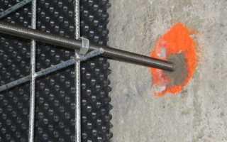 Химические анкера для бетона — выбор и установка