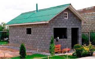 Дом и баня из керамзитобетонных блоков — плюсы и минусы