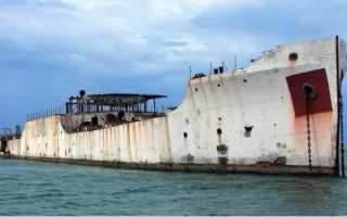 Железобетонные корабли: исторические и современные