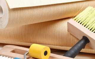 Как клеить обои на газобетоннные стены — подготовка поверхности под обои