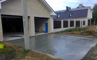 Как залить двор бетоном своими руками и правильно?