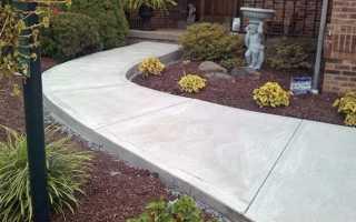 Пропорция для бетона на дорожки: материалы