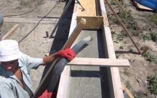 При какой температуре можно заливать бетон?