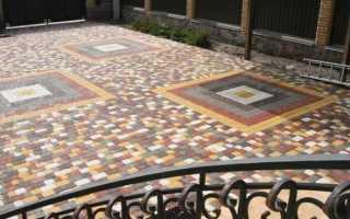 Состав бетона для тротуарной плитки: пропорции и технология изготовления
