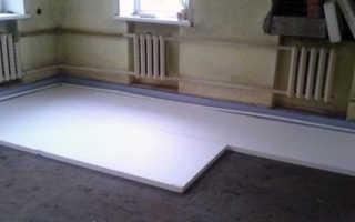 Как утеплить бетонный пол в квартире: монтаж и заливка