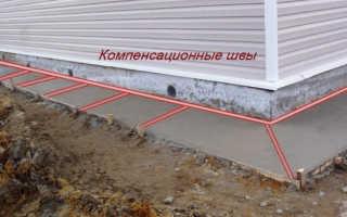 Компенсационные швы в бетоне: какими бывают и как выполняются?