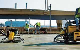 Затирочные машины для бетона — разновидности и принцип действия