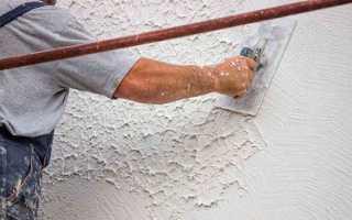 Как штукатурить бетонные стены своими руками — технология и видео
