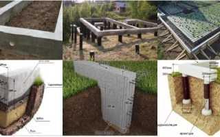 Какой фундамент выбрать под дом из газобетона, сравнение вариантов
