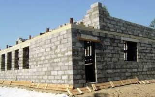 Дом из полистиролбетона: плюсы, минусы, параметры и этапы строения