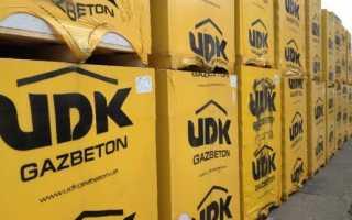 Газобетон udk: плюсы использования и характеристики