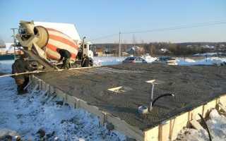 Противоморозные добавки в бетон — виды и температурные режимы