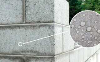Водопоглощение газобетона — на что влияет и как уменьшить