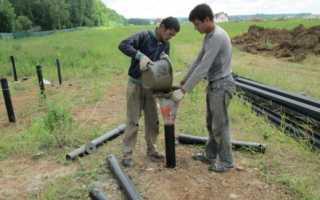 Бетонные винтовые сваи: технология бетонирования и преимущества