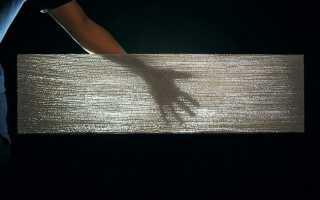 Прозрачный бетон — технология производства своими руками