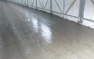 Устройство бетонных полов: подготовка и процесс бетонирования