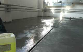 Пропитка для бетонного пола: средства и технология нанесения