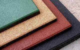 Тротуарная резиновая плитка — состав, преимущества, применение