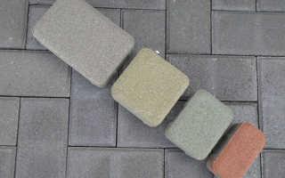 Вес тротуарной плитки и бордюра по типу изделий