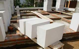 Класс прочности газобетона и плотность блоков