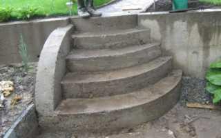 Как залить ступеньки бетоном: подготовка и облицовка
