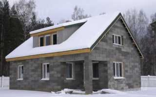 Дом из бетонных блоков: классификациия, размеры и строительство