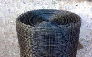 Тканая сетка для бетона: виды, преимущества и размеры ячеек