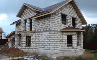 Дом из газобетона своими руками: технология строительства и отделка