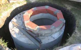 Кессон из бетонных колец своими руками: технология изготовления