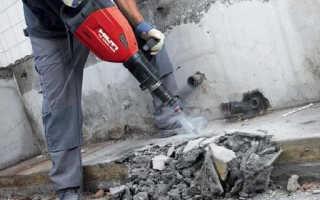 Демонтаж бетона: виды и технология работы
