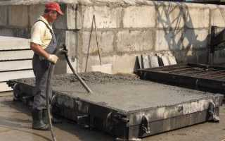 Провибрировать бетон: правила, виды оборудования и процесс