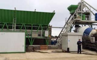 Бизнес план бетонного завода: регистрация, оборудование и базовые расходы