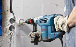 Чем сверлить газобетон, обзор инструментов
