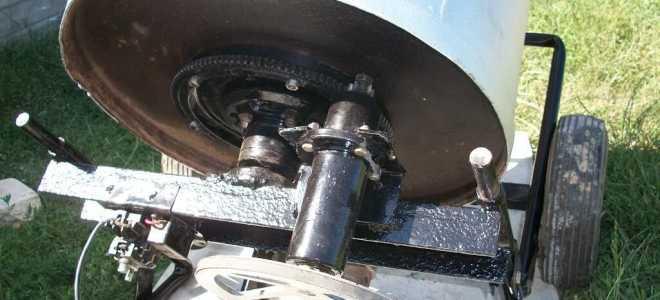Бетономешалка из стиральной машины своими руками