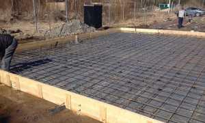 Армирование плитного фундамента — расчет и установка