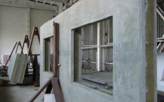 Стеновые железобетонные панели: виды, маркировка и производство