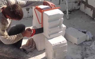 Чем резать газобетонные блоки: штроборез, рубанок, пилы