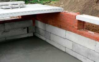 Бетонные блоки для фундамента: разновидности, маркировка и постройка