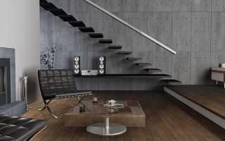 Про бетонные панели для интерьера и варианты их замены