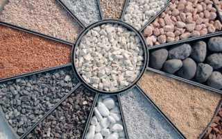 Щебень для бетона фундамента: характеристики, классификации и фракции