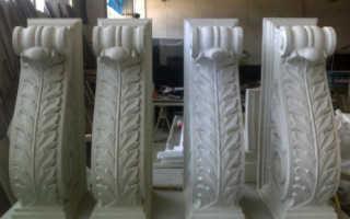 Лепнина из стеклофибробетона: изготовление и декорирование фасада