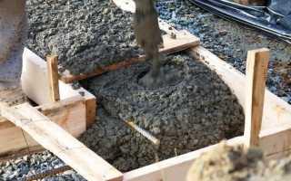 До какой температуры можно заливать бетон без добавок