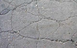 Треснул бетон: причины и устранение проблемы