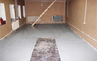 Как залить пол в гараже бетоном: подготовка, стяжка и бетонирование