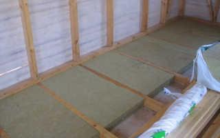Утеплитель для пола по бетону: характеристики, виды и отличия