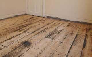 Стяжка на деревянный пол — можно ли делать и как залить