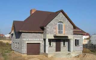 Дом из керамзитобетонных блоков — как построить и утеплить