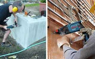 Разновидности победитовых сверл по бетону