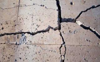 Крошится и разрушается бетон: причины и методы предотвращения?